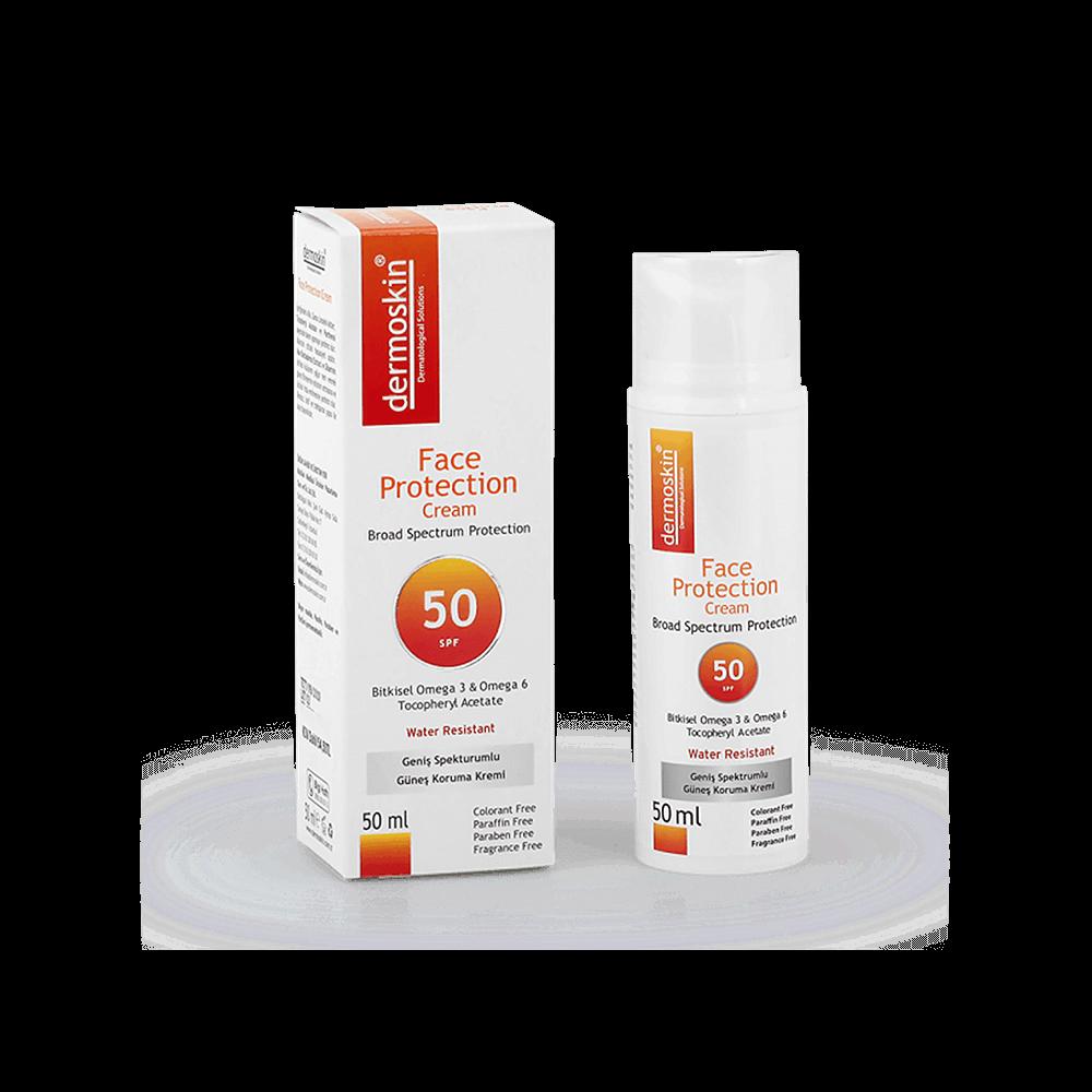 Dermoskin 2 adet Celerit Spf 25 Krem + 1 Adet Face Protection Spf 50 Kofre