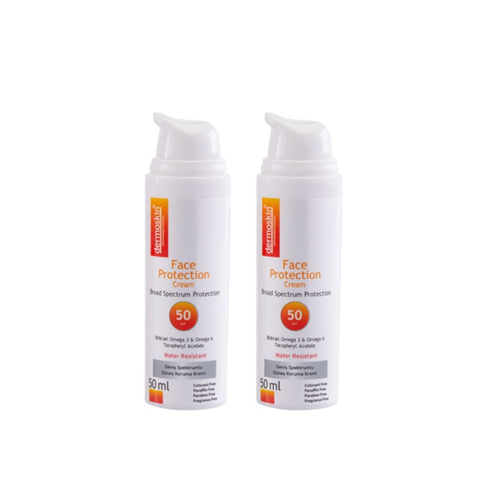 Dermoskin Face Protection SPF 50 -2'li Avantaj Paket
