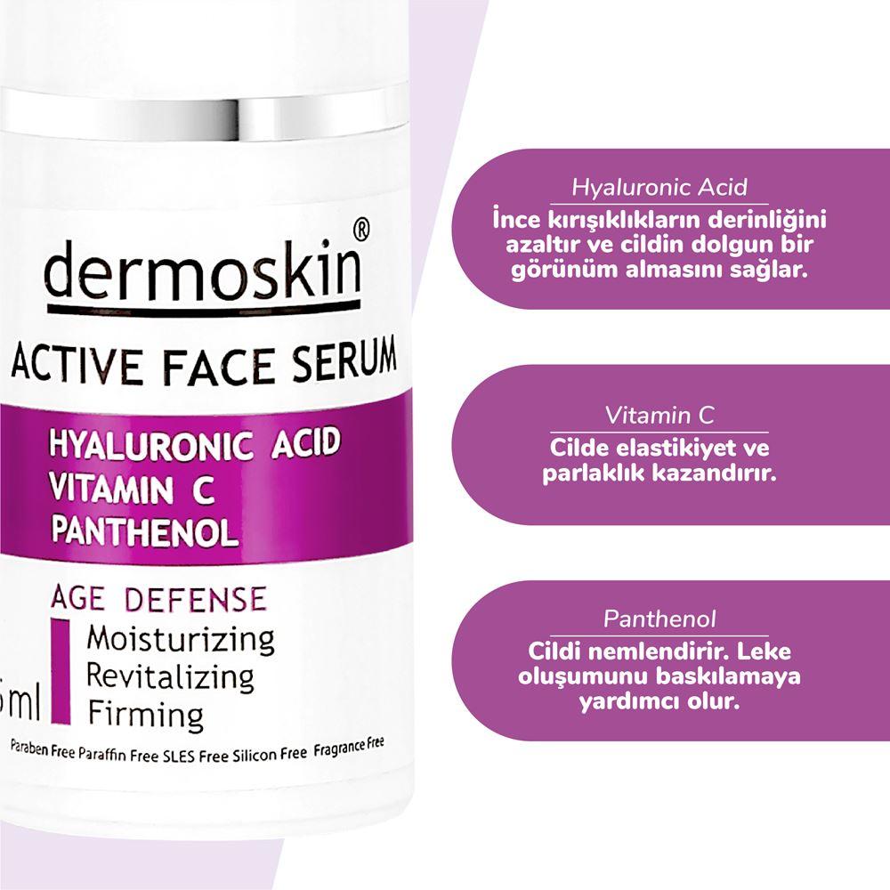 Dermoskin Yaşlanma Karşıtı Aktif Serum Dermoskin Active Serum