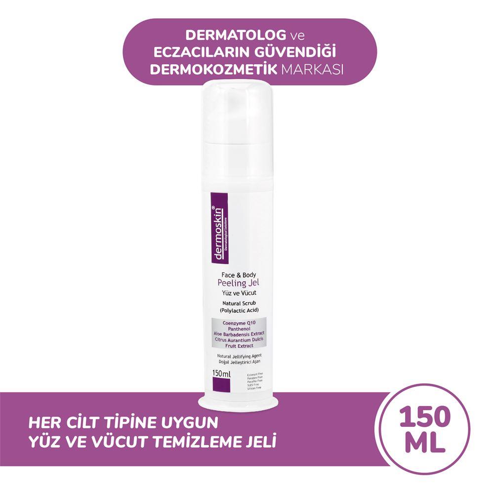 Dermoskin Yüz Ve Vücut Peeling Jel Dermoskin Face&body Peeling Jel