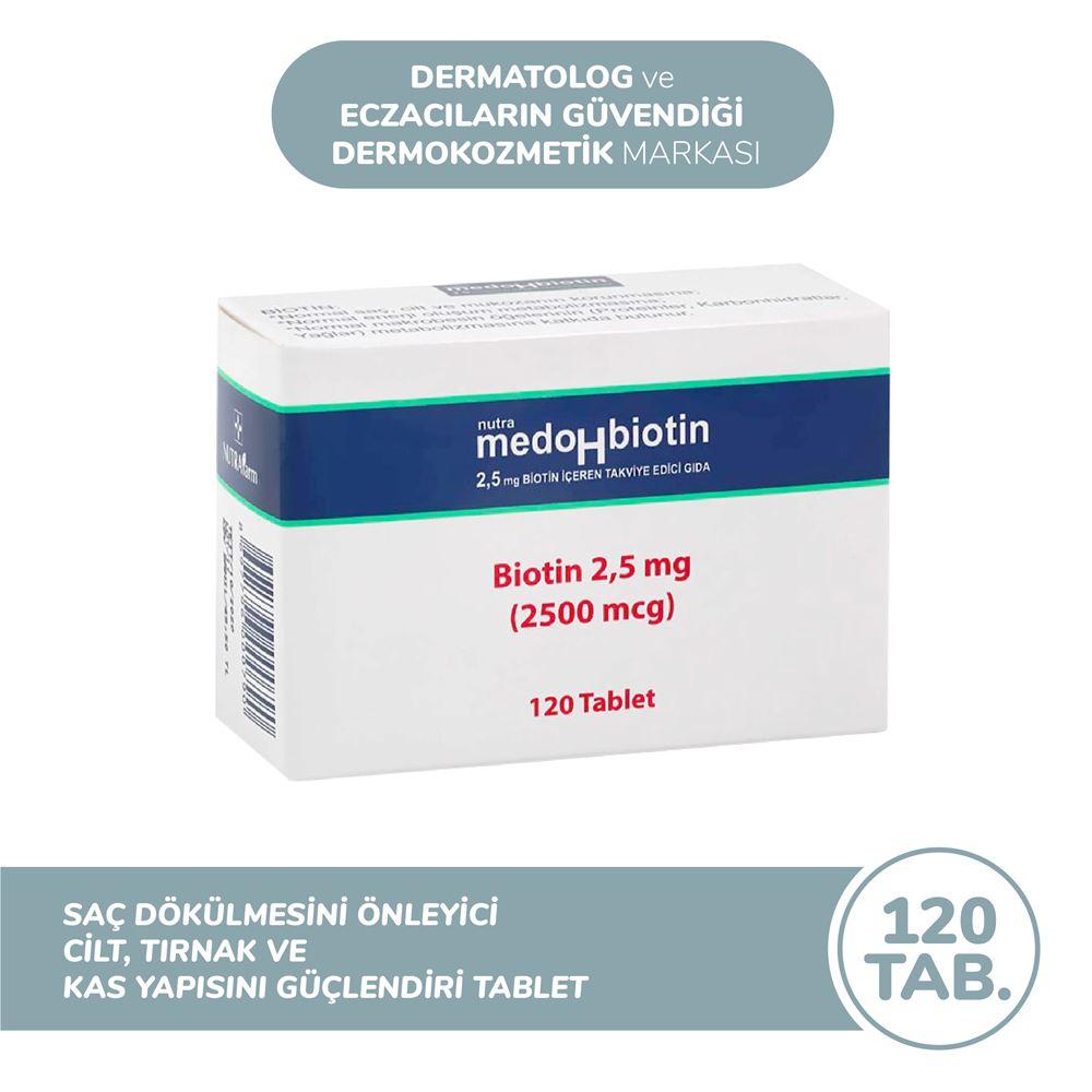 Dermoskin Medohbiotin 2,5 mg - 120 Tablet